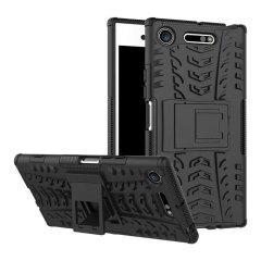 Olixar ArmourDillo Sony Xperia XZ1 Protective Case - Black