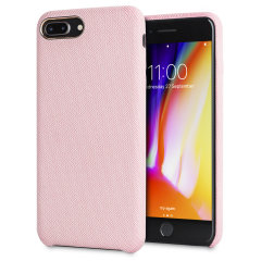 LoveCases Pretty in Pastel iPhone 8 Plus Jeans-Designer-Hülle - Rosa