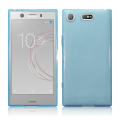 Olixar Flexishield Sony Xperia XZ1 Compact Gel Case - Blue