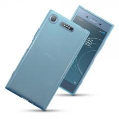 Olixar FlexiShield Sony Xperia XZ1 Deksel - Blå