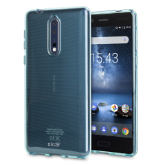 Custom moulded for the Nokia 8, this blue Olixar FlexiShield case provides a slim fitting stylish design and durable protection against damage, keeping your device looking great at all times.