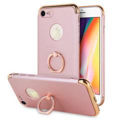 Olixar X-Ring iPhone 8 / 7 Finger Loop Case - Rozé Goud