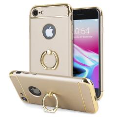 Olixar X-Ring iPhone 8 / 7 Finger Loop Case - Goud