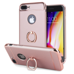 Olixar X-Ring iPhone 8 Plus / 7 Plus Finger Loop Case - Rozé Goud