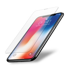Olixar iPhone X Case Compatible Tempered Glass Screen Protector