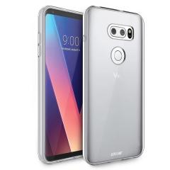 Olixar Ultra-Thin LG V30 Gel Hülle in 100% Klar