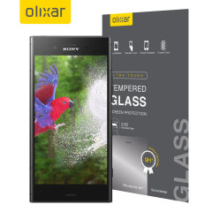 Olixar Sony Xperia XZ1 Tempered Glass Screen Protector