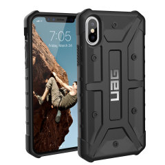 UAG Pathfinder iPhone X Rugged Case - Black