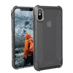 UAG Plyo iPhone X starke schützende Hülle - Asche