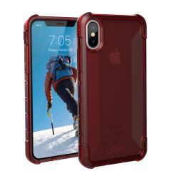 UAG Plyo iPhone X Tough Protective Case - Crimson