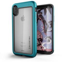 Ghostek Atomic Slim iPhone X Tough Case - Teal