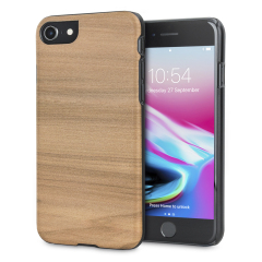 Man&Wood iPhone 8 / 7 Wooden Case - Cappuccino