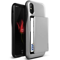 VRS Design Damda Glide iPhone X Case - Silver