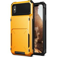 VRS Design Damda Folder iPhone X Case - Volcano Yellow