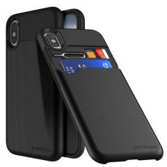 Prodigee UnderCover iPhone X Card Slot Case - Black