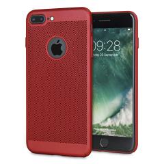 Olixar MeshTex iPhone 7 Plus Hülle - Brazen Rot