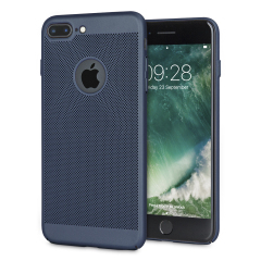 Olixar MeshTex iPhone 7 Plus Case - Marine Blauw
