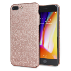 LoveCases Check Yo Self iPhone 8 Plus / 7 Plus Hülle - Rose Gold