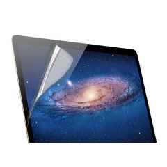 Shield your treasured MacBook Pro Retina 15 screen  from fingerprints, dust and superficial damage with this extra clear protective film screen protector from KMP. Complete with sleek, attractive black edges.