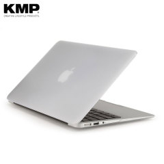 Shield your MacBook Air 13 inch from surface damage and drops while retaining Apple's signature design with this clear hardshell case from KMP.