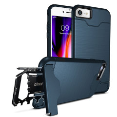 Olixar X-Ranger iPhone 8 / 7 Survival Case - Marine Blue