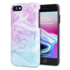 LoveCases Marble iPhone 8 / 7 Case - Dream Pink