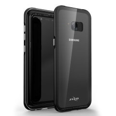 Zizo Atom Samsung Galaxy Note 8 Case & Glass Screen Protector - Black