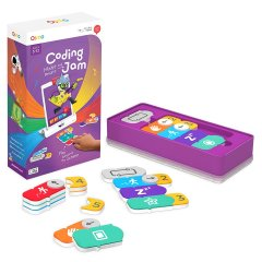 The Osmo Coding Jam is an educational interactive app for children five years or older designed to work with the Osmo iPad Education Gaming System (sold separately).