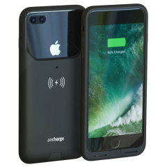 Funda iPhone 7 Plus aircharge con Carga Inalámbrica Qi - Negra