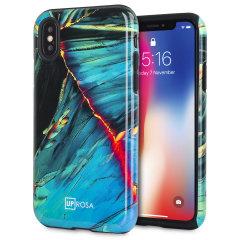 Uprosa Slim Line iPhone X Hülle - Citrus Ozean
