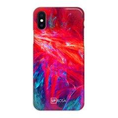 Uprosa Slim Line iPhone X Hülle - Fraktale Flamme