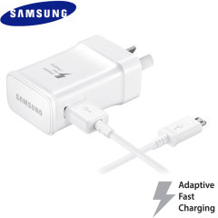 A genuine Samsung Australian adaptive fast mains wall charger and Micro USB cable for your Samsung Galaxy S7 / S7 Edge, S6 / S6 Edge, S6 Edge+, Note 5 and Note 4. This is identical to the charger provided with these phones - EP-TA20HWEUGAU.