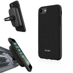 Evutec AERGO Ballistic Nylon iPhone 8 Tough Case & Vent Mount - Black