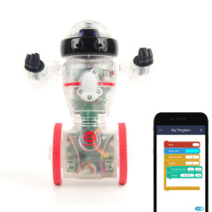 Coder MiP is the new, programmable version of the world's favourite balancing robot. Control your robot's actions and reactions with simple drag-and-drop commands, using the brand new app on your tablet or smartphone.