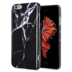 LoveCases Marble iPhone 6S / 6 Case - Black
