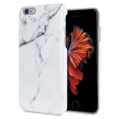 LoveCases Marble iPhone 6S / 6 Case - Classic White