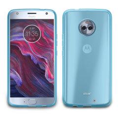 Olixar FlexiShield Motorola Moto X4 Gel Hülle in Blau