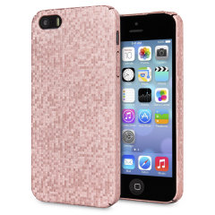 LoveCases Check Yo Self iPhone SE / 5S / 5 Hülle - Rosa Gold
