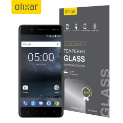 This ultra-thin tempered glass screen protector for the Nokia 5 from Olixar offers toughness, high visibility and sensitivity all in one package.