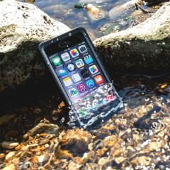 4smarts Nautilus Active Pro iPhone 8 / 7 Waterproof Case - Black