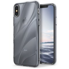 Rearth Ringke Flow iPhone X Case - Smoke Black