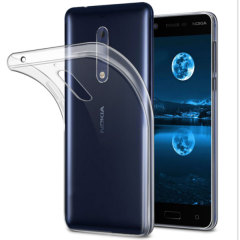 Custom moulded for the Nokia 5. This 100% Clear ultra-thin case from Olixar provides a slim fitting stylish design and durable protection against damage, keeping your Nokia 5 looking great at all times.