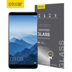 This ultra-thin tempered glass screen protector for the Huawei Mate 10 from Olixar offers toughness, high visibility and sensitivity all in one package.