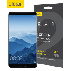Mantenga la pantalla del Huawei Mate 10 en perfecto estado con el protector de pantalla resistente a arañazos Olixar
