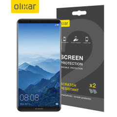 Keep your Huawei Mate 10 Pro screen in pristine condition with this Olixar scratch-resistant screen protector 2-in-1 pack. Ultra responsive and easy to apply, these screen protectors are the ideal way to keep your display looking brand new.