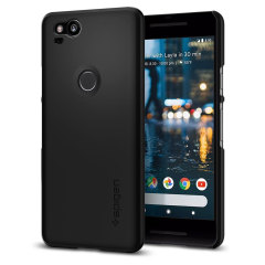Durable and lightweight, the Spigen Thin Fit series for the Google Pixel 2 offers premium protection in a slim, stylish package. Carefully designed the Thin Fit case in smooth black is form-fitted for a perfect fit.