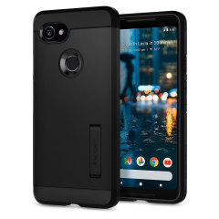 Spigen Rugged Armor Google Pixel 2 XL Hülle in Schwarz