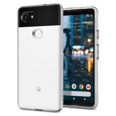 Robuste und leiche Schutzhülle für das Google Pixel 2 XL von Spigen. Die Hülle hat die perfekte Passform zum Schutz des Google Pixel 2 XL.