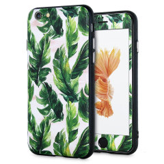 Enhance and protect your iPhone 6S / 6 with a taste of paradise with this stunning case from LoveCases. A durable frame offers a perfect fit, whilst a Jungle Boogie design adds a touch of on-trend beauty to your iPhone. Comes with a free screen protector.