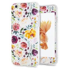 Mejore y protege su iPhone 6S / 6  con esta encantadora y elegante funda de LoveCases. Su iPhone se adapta perfectamente al marco seguro y resistente, mientras que el diseño de arte floral granate clásico agrega un toque de belleza rústica a su dispositivo ya espléndido